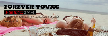 Forever Young Twitter Header Design