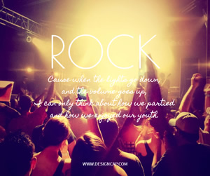Rock Music Facebook Post Design