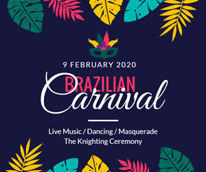 Carnival Party Facebook Post Design