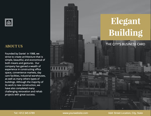 Elegant City Brochure Design