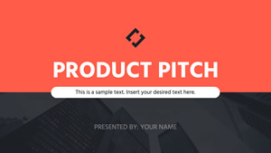 Product Pitch Presentation Design