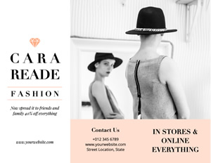 Lady Fashion Brochure Design