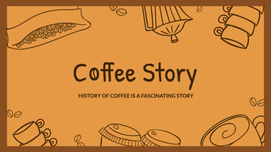 Coffee Story YouTube Channel Art Design