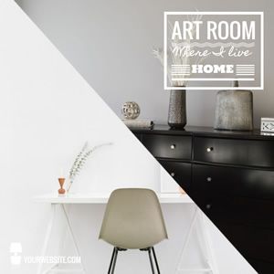Art Room Instagram Post Design