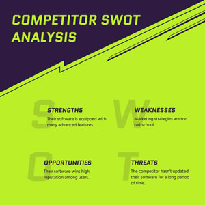 Competitor Swot Analysis Chart Design