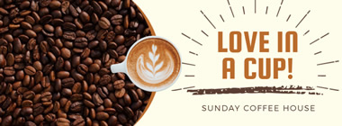 Coffee Shop Facebook Cover design