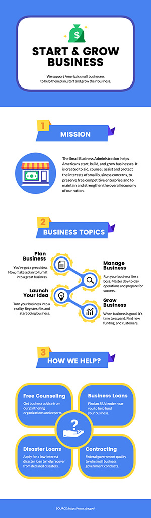 Small Business Infographic Design