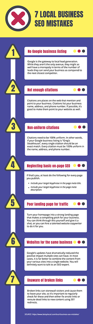 SEO Tips Infographic Design