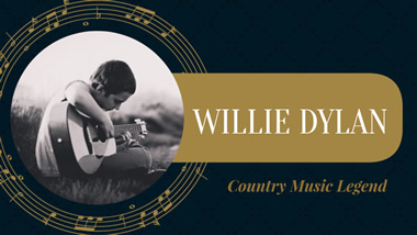 Country Music YouTube Thumbnail Design