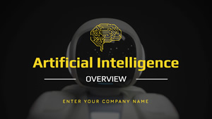 Artificial Intelligence Overview Presentation Design
