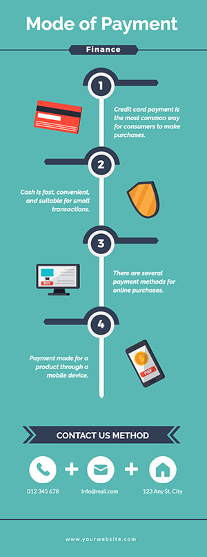 Payment Mode Infographic Design