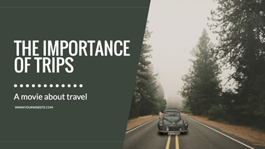 Importance of Trips YouTube Channel Art Design