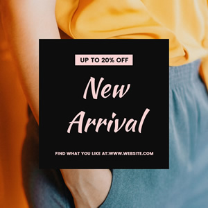 Women New Arrival Instagram Post Design