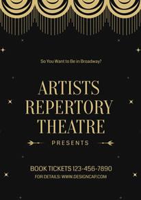 free theatre poster designs designcap poster maker