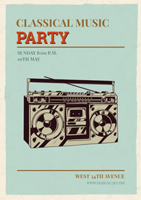 Free Party Poster/Flyer Designs | DesignCap Poster/Flyer Maker