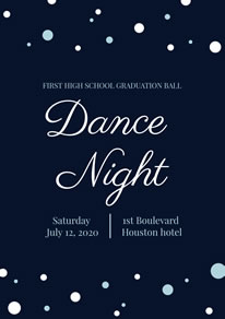 Free Dance Poster/Flyer Designs | DesignCap Poster/Flyer Maker