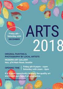 art show flyer template free