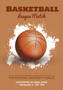 free basketball poster flyer designs designcap poster flyer maker