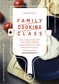 Free Cooking Class Flyer Designs Designcap Flyer Maker
