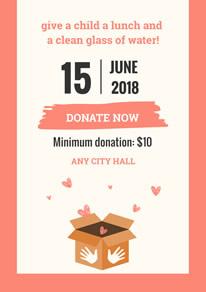 free donation poster flyer designs designcap poster flyer maker