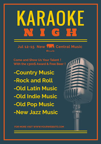 free music poster flyer designs designcap poster flyer maker