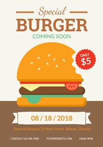 free fast food flyer designs designcap flyer maker