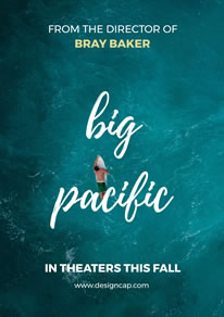Blue Movie Festival Poster Pacific Ocean Design