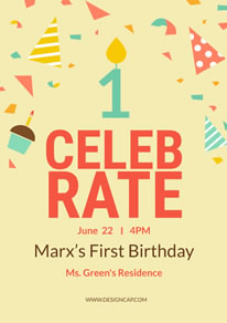 free birthday poster flyer designs designcap poster flyer maker