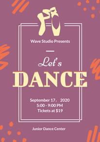 free dance poster flyer designs designcap poster flyer maker