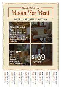 Rental House Photo Real Estate Flyer design
