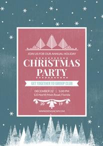 free christmas poster flyer designs designcap poster flyer maker